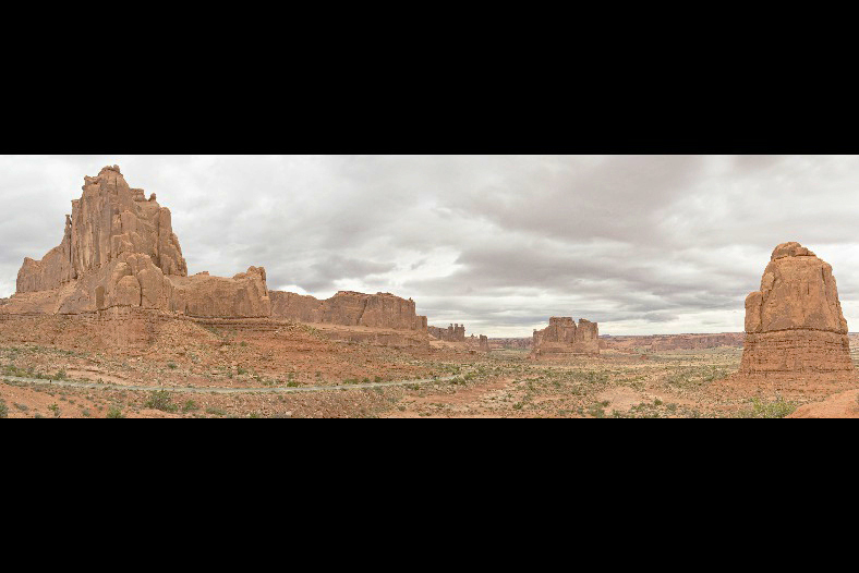 Arches National Park - Entry Road Panorama