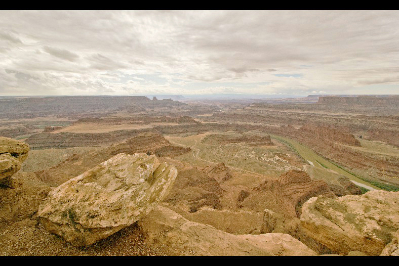 Canyonlands - Big Bend Overlook